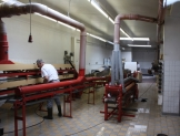 The Candy Factory gets cleaned
