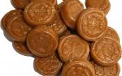Nougat filled Crunchy Coins